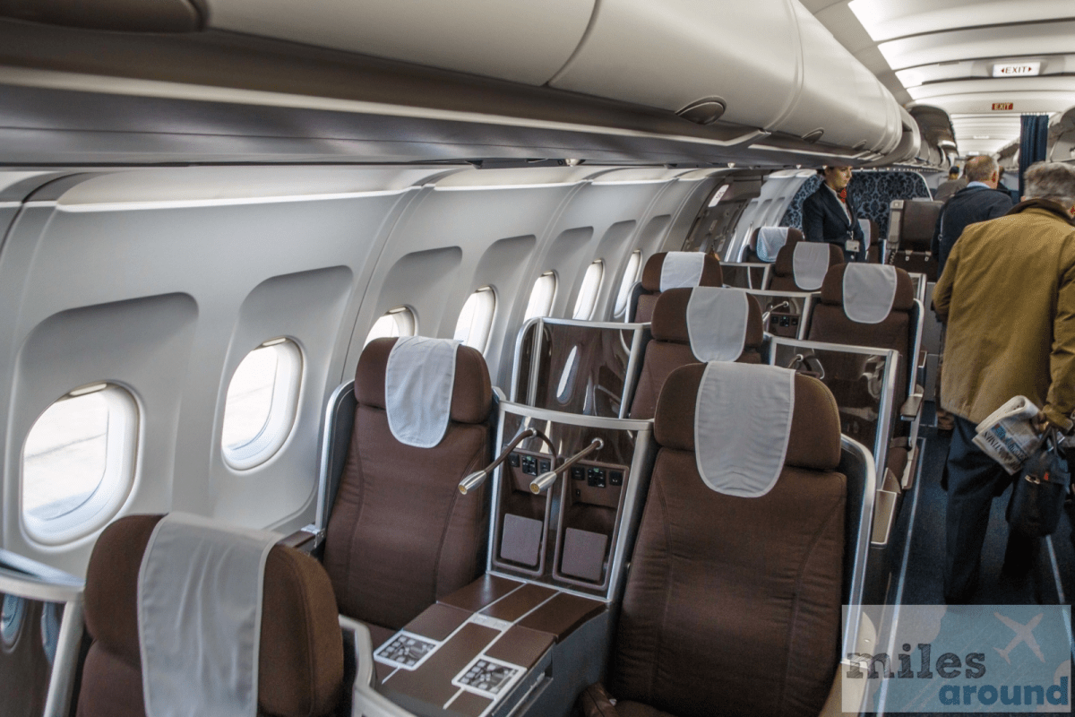 British Airways long haul Business Class Airbus A321